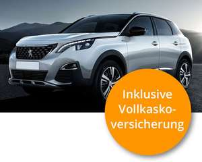 Peugeot 3008 Privatleasing inkl. Versicherung, Steuer und Wartung deinauto direkt 399,00€ monatlich