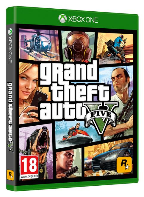 Grand Theft Auto V (Xbox One) + $2,5 Mio Ingame Dollars für 30,34€ inkl. VSK (Shopto)