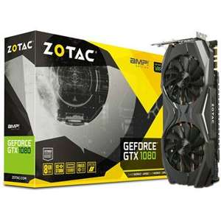 8GB ZOTAC GeForce GTX 1080 AMP! Edition Aktiv