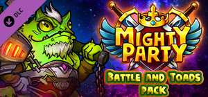 [STEAM] Mighty Party: Battle and Toads Pack (DLC) @Game Giveaway of the day