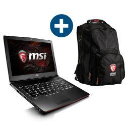 "MSI 15"", i7-6700HQ, GTX 1060, 1TB, 16GB,  Windows 10 + Rucksack bei Cyberport für 1149 €"