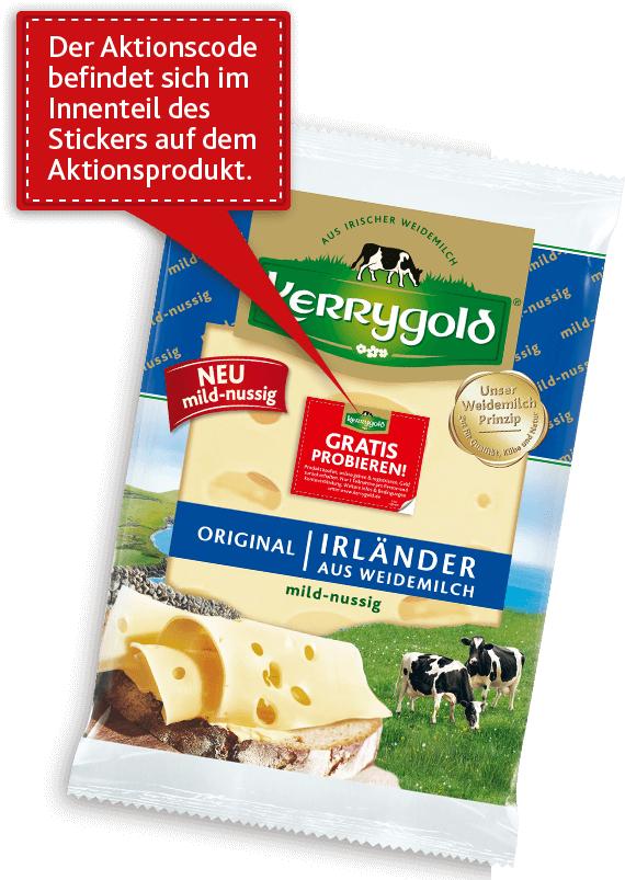 Kerrygold Original Irischer Käse 125g GRATIS PROBIEREN