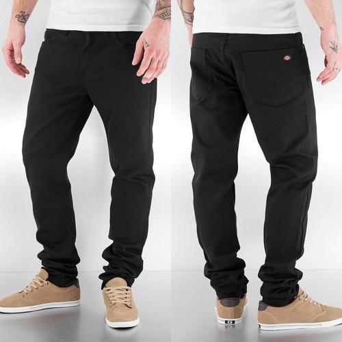 Skinny Jeans Slim Skinny in schwarz