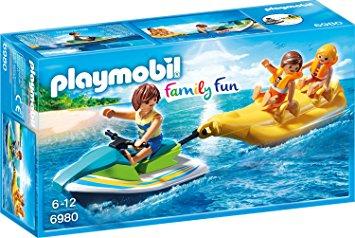 Playmobil 6980 - Jetski mit Bananenboot - Amazon.de