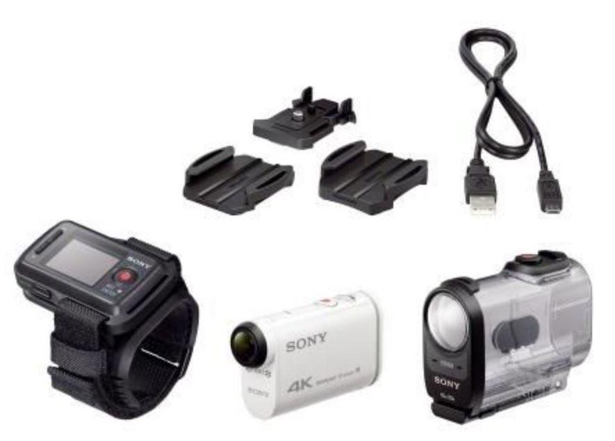 Sony FDR-X1000VR Remote Edition Action Cam inkl. Live-View-Fernbedienungskit bei Cyberport für 279 €