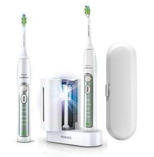 [Tagesangebot) Philips Sonicare FlexCare+ Elektrische Zahnbürste mit Schalltechnologie HX6972/35 Doppelpack