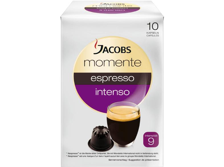 JACOBS 649088 Momente Espresso Intenso Kaffeekapseln (Nespresso®) für 1 € bei Mediamarkt