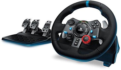 Logitech G29 Driving Force für 199,99€@ Amazon.de - Force-Feedback Lenkrad für Autorennspiele auf PS4, PS3 und PC