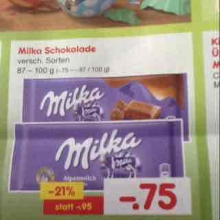 [Netto MD] Milka mit Milka Coupon für 61 Cent