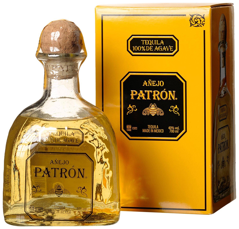 [amazon] Patrón Añejo Tequila 0.7l