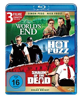 [Prime] Cornetto Trilogie ink. Shaun of the Dead, Hot Fuzz, The World's End für 10,57€ @Amazon.de