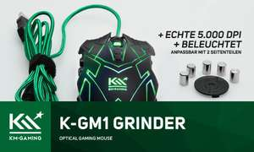 [Amazon] - KM-Gaming K GM1 Maus 25% sparen! + 10% extra bei 2 Artikeln