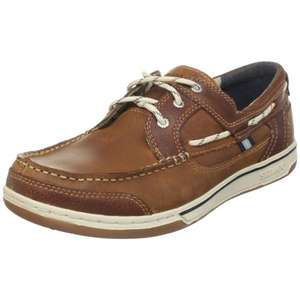 [Amazon] Sebago TRITON THREE EYE Herren Bootsschuh (BRITISH TAN/BROWN)