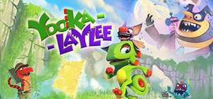 [vorbestellung] [Kinguin] Yooka-Laylee Steam Game (wie Banjo-Kazooie)
