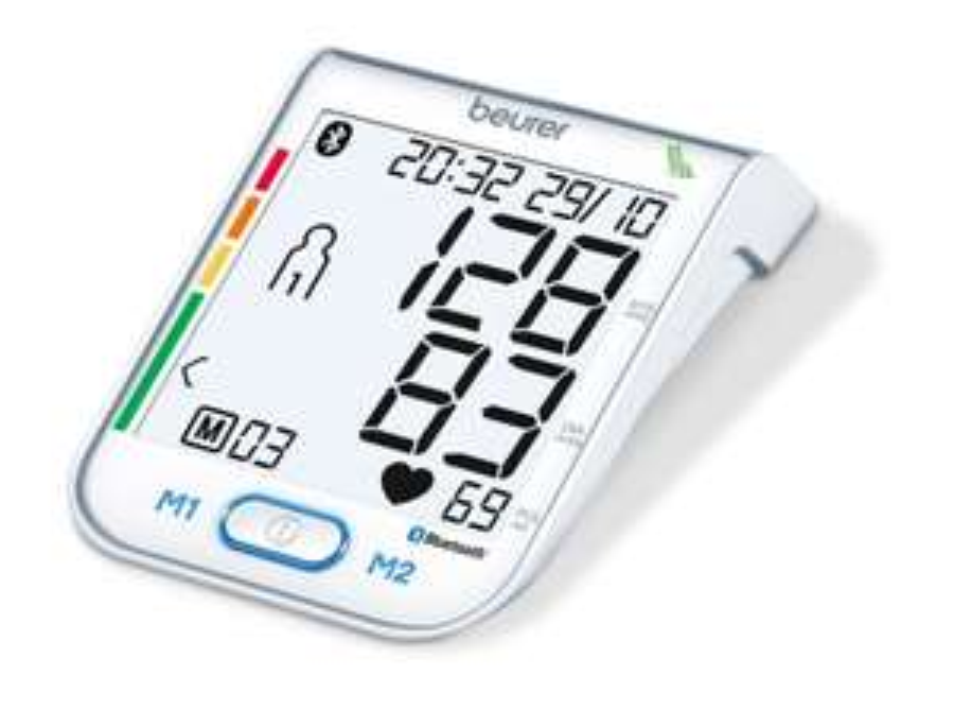[Athleteshop] Beurer BM 77 Bluetooth® Blutdruckmessgerät | digitales Blutdruck- und Pulsmessgerät inkl. Diagnose App