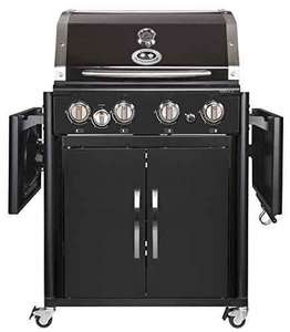 Outdoorchef PERTH 4G + schwarz BBQ Gasgrill Grillstation, 4 Brenner, 18.131.29 [Amazon]