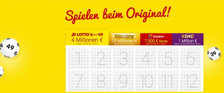[Lotto] Lotto.de über Shoop: 5€ Cashback bei mind. 5€ in einem Spiel für Neukunden; 5% Cashback bei mind. 5€ in einem Spiel für Bestandskunden