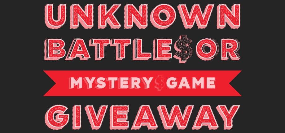 Free Steam Key für - Unknown Battle or Mystery Games!