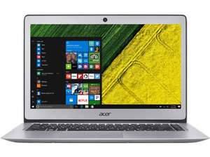 ACER Swift 3 Notebook, 14 Zoll,  Intel® Core™ i7-7500U Prozessor, 256 GB SSD, 8 GB RAM, mattes FHD-Display, Win 10 mit Acer-Cashback für 750€ @MediaMarkt