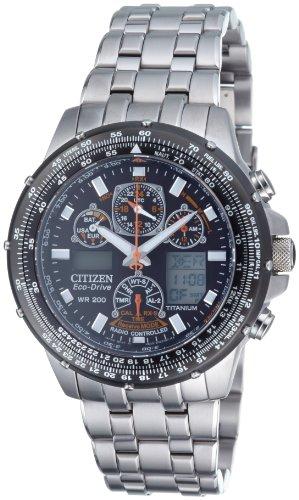 Citizen Herren-Armbanduhr Titan Promaster Super Skyhawk Chronograph Quarz JY0080-62E für 551,16€ [amazon.it]