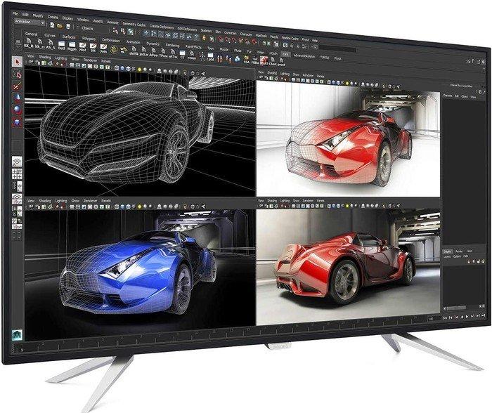 Philips BDM4350UC/00 Monitor (43'' UHD IPS, 300cd/m², 1.200:1, 5ms, 2x HDMI 2.0 + 2x DP + VGA, 4x USB, 100% sRGB, VESA) für 529€ [Amazon]