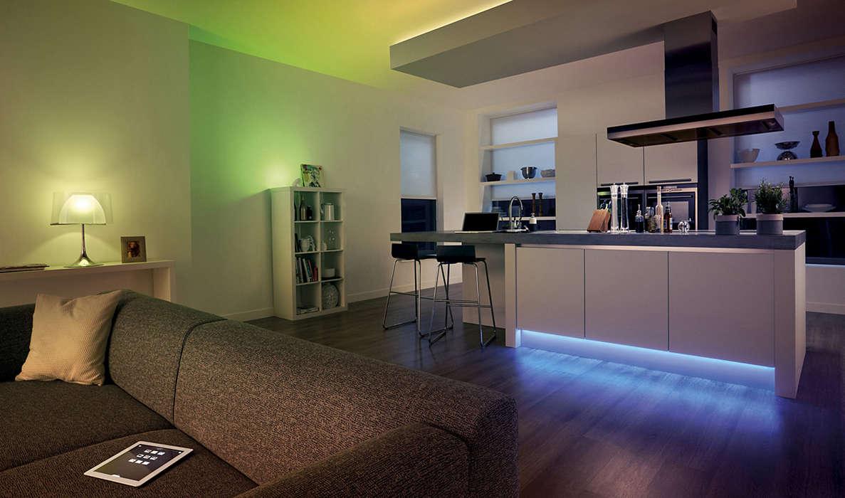Philips HUE LightStrip, 2m - 39,99 (zzgl Rabatt 15%: 101,97€ für 3!!!) -> bis zu -43%!