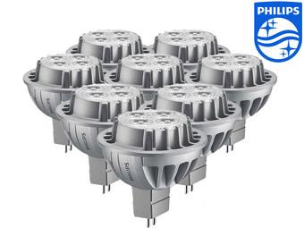 8er-Pack Philips LED-Strahler 50W  für 34,95€