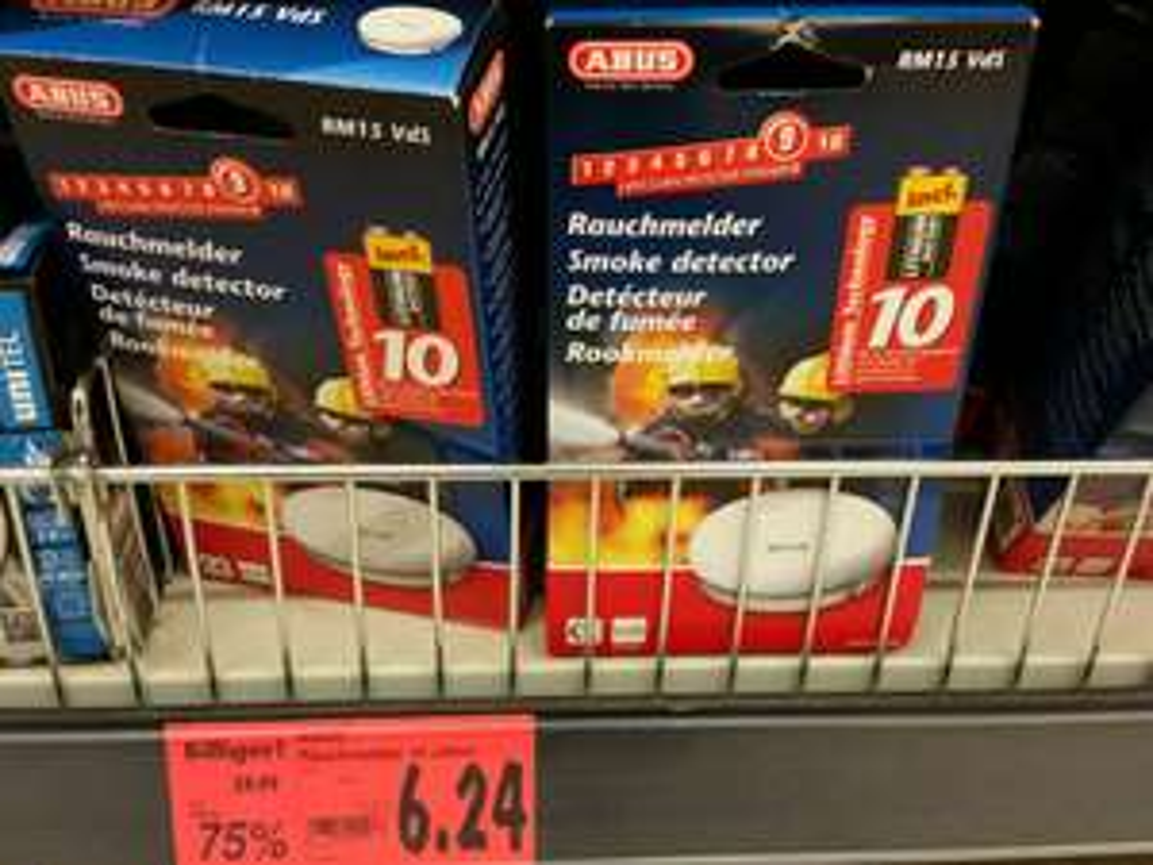 ABUS 10-Jahres Rauchmelder (Kaufland Solingen)