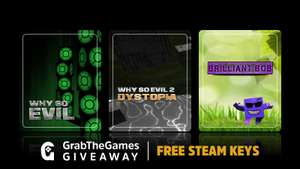 Free Steam Key - Why So Evil + Why So Evil 2 + Brilliant Bob + The Came From The Moon