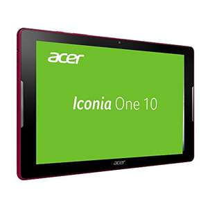 Acer Iconia One 10 (B3-A30) 25,65 cm (10,1 Zoll) HD Tablet-PC (ARM Cortex-A53 Quad-Core, 1,3 GHz, 1 GB RAM, 16 GB eMMC, Android 6.0 Marshmallow) in blau oder rot für 119€ [Amazon]