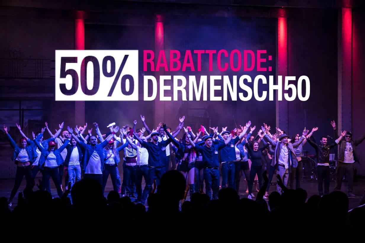 50% Rabatt für die Berlin Nights Show am Potsdamer Platz