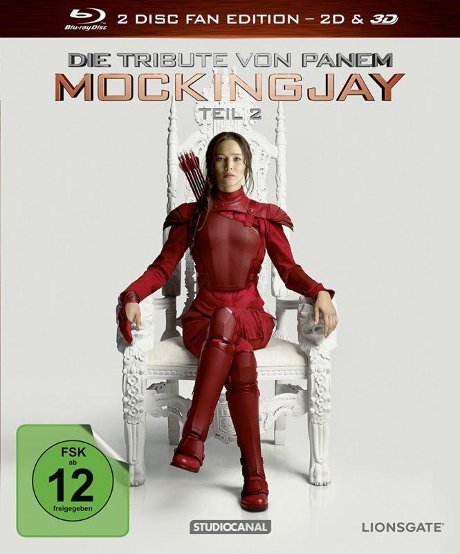 [Lokal CITTI Kiel] Die Tribute von Panem - Mockingjay 2 (3D + 2D Blu-Ray) für 7,99 €