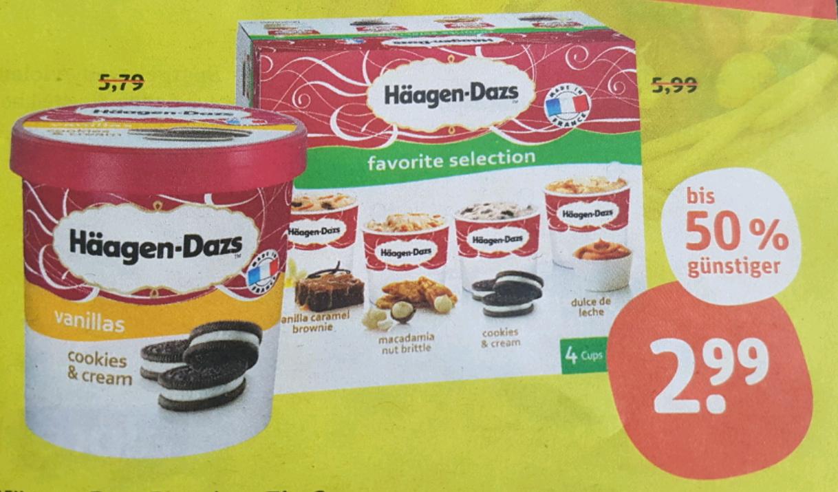 Häagen-Dazs 500ml für 2.99 € im tegut