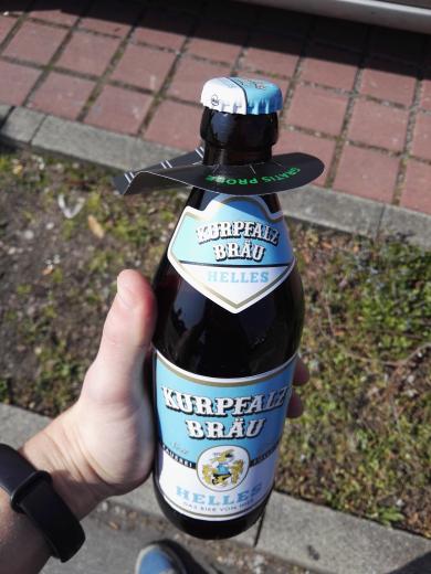 [lokal Hockenheim] Kurpfalz Bräu Helles - Gratis Flasche bei REWE