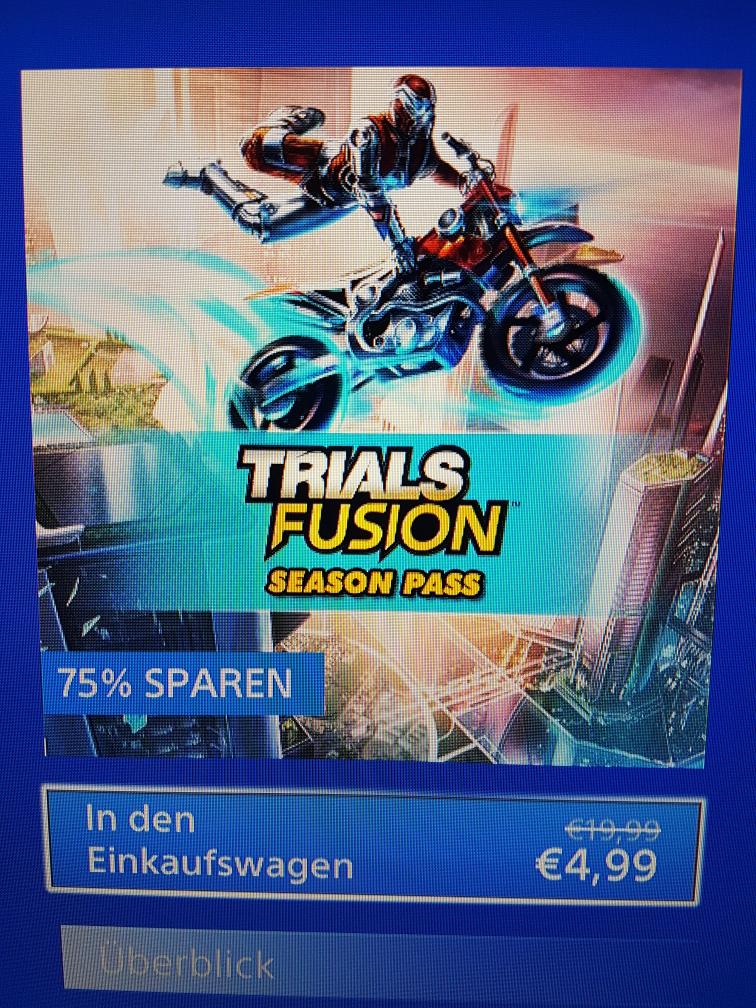 [PSN] Trials Fusion Season Pass Ps4