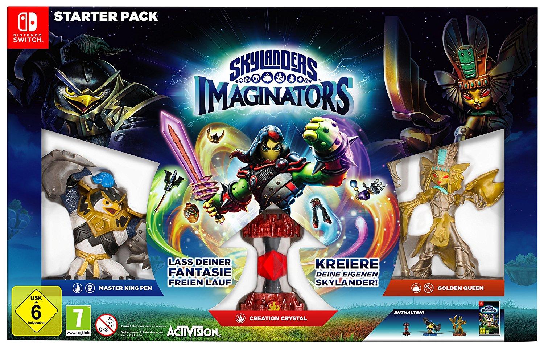 [Amazon]Skylanders Imaginators - Starter Pack [Nintendo Switch] für 36,84