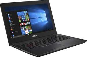 ASUS ROG FX502VM-DM112T Notebook (15,6'' FHD matt, i5-6300HQ, 8GB RAM, 256GB SSD, Geforce 1060, Wlan ac + Gb LAN, bel. Tastatur, Win 10) + Office 365 für 999€ [Saturn]