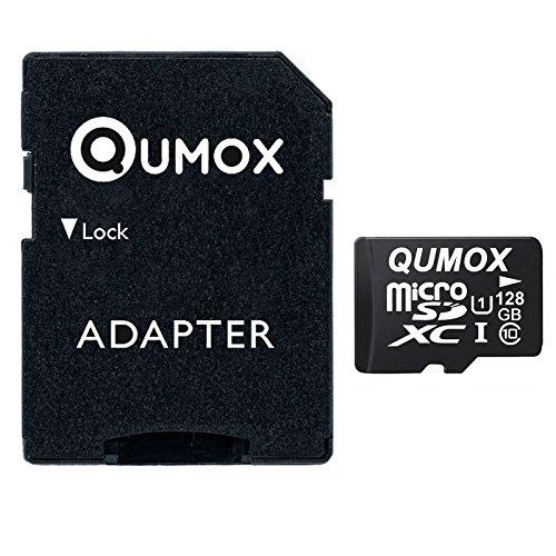 QUMOX Speicherkarte MicroSDXC 128GB UHS-I Grade 1 Class 10 für 36,79€ [Amazon / eBay]