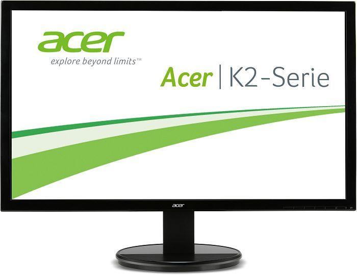 ACER K242HQLC Monitor (23,6'' FHD TN, 300cd/m², 1ms, HDMI + DVI + VGA, VESA, EEK B) für 89€ versandkostenfrei [Mediamarkt]