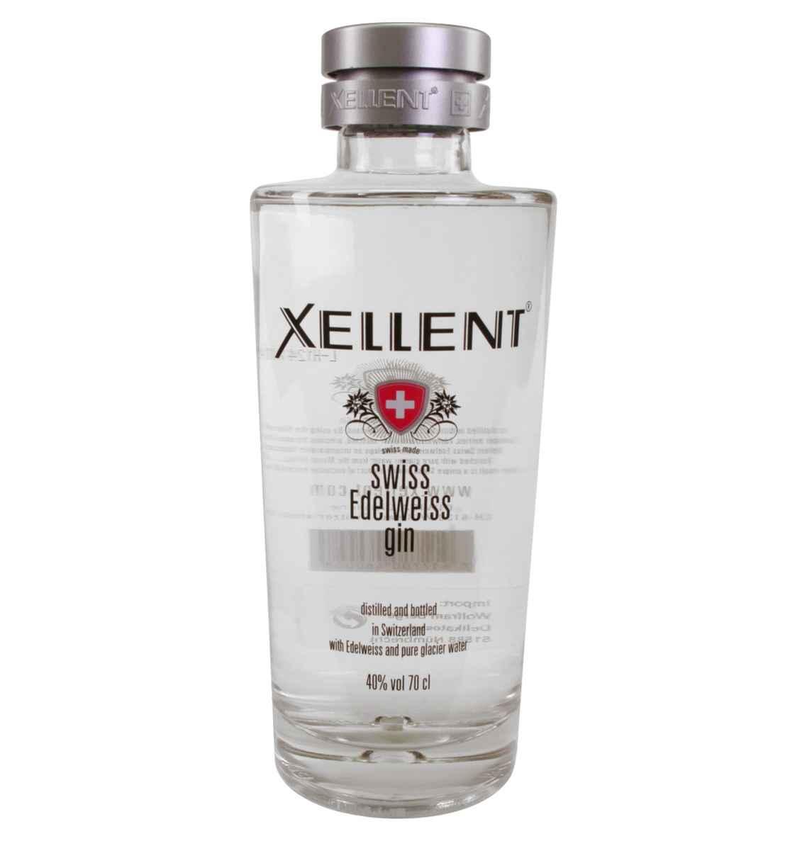 [Galeria Kaufhof] Xellent Swiss Edelweiss Gin oder vodka, 0,7l
