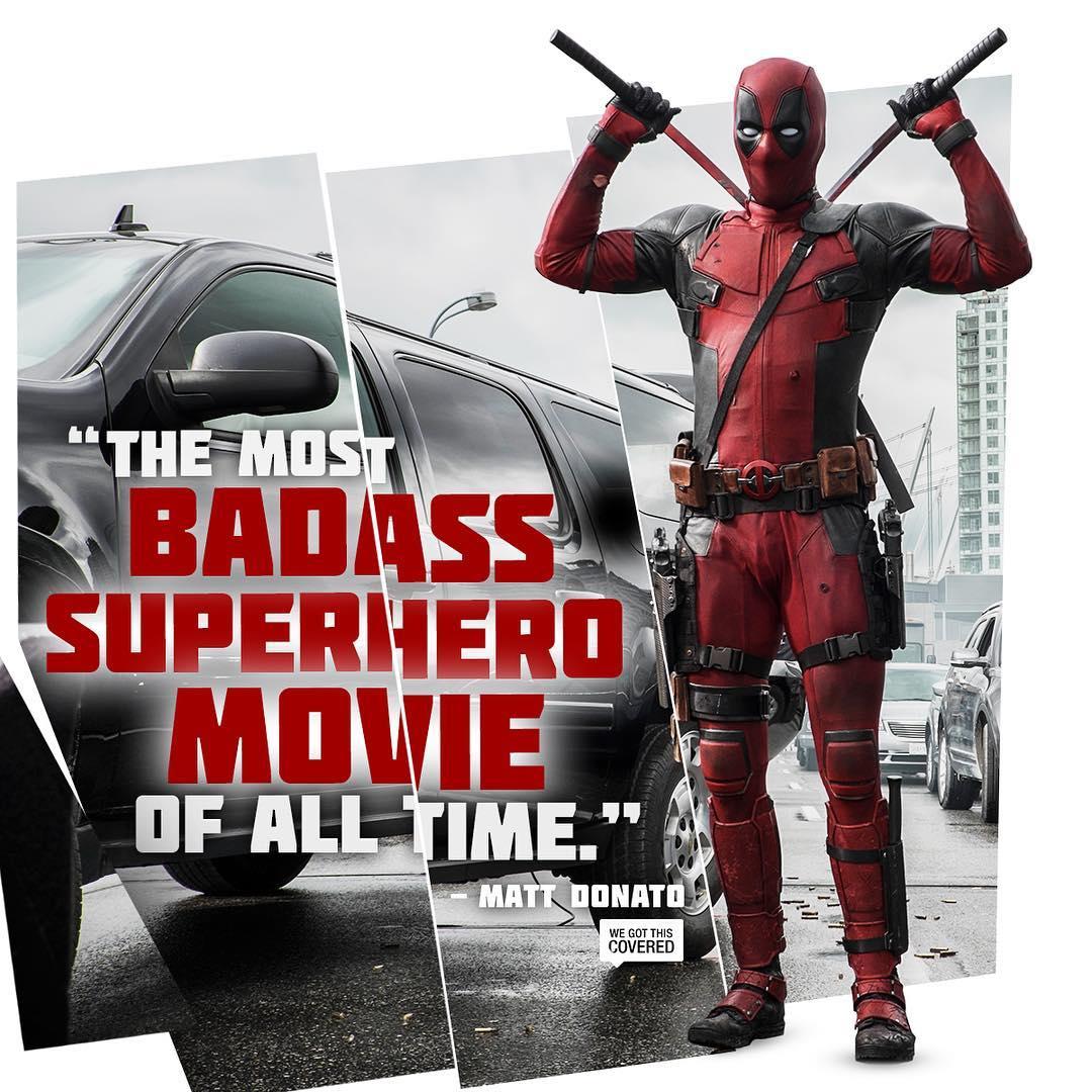 Deadpool Blu-Ray inkl. 1 Euro Gutschein für Amazon Video