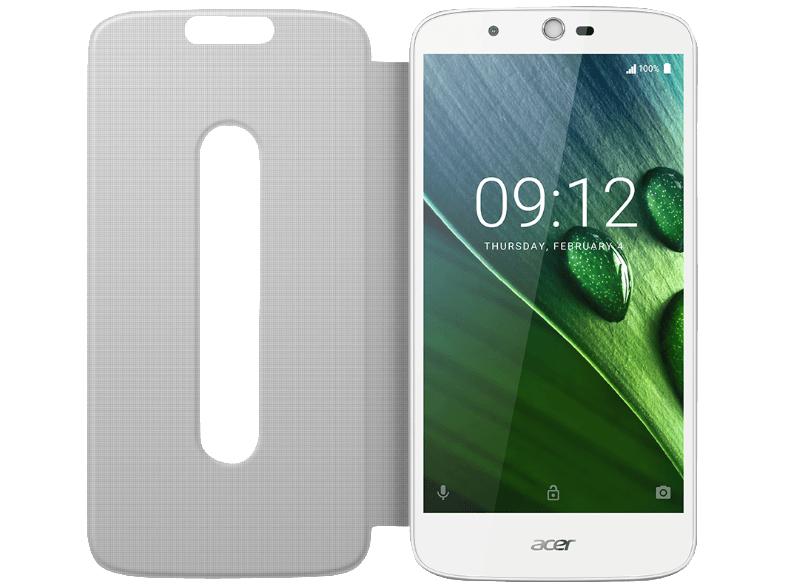 ACER Liquid Zest Plus inkl. Flipcover 16 GB Dual SIM, 2GB, Android 6.0 in weiss oder blau  bei Mediamarkt für 149 €