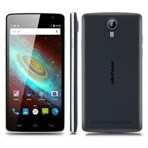 "Ulefone Be Pure Lite, 5.0"", 1280x720, Dual-SIM, Android 6.0, Quadcore, 1GB/8GB, GPS, WiFi, 8.0/5.0 MP, schwarzblau/silber"