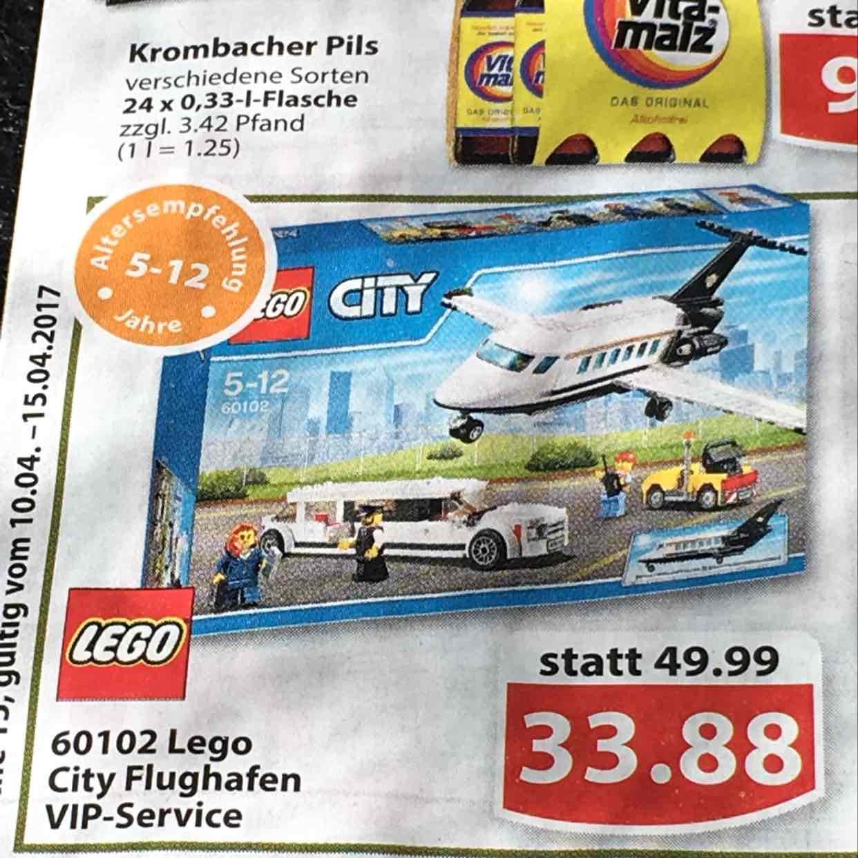 Famila Nordwest Lego City Flughafen VIP 60102
