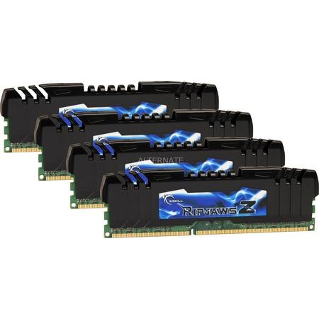 "G Skill ""Ripjaws Z"" 16 GB DDR3-2400 Quad-Kit"" für 99€ (103,95€ incl. Versand) @Zackzack.de"