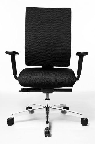 Topstar PS79BHW50 Bürodrehstuhl Sitness 70 inkl. Armlehnen / Stoffbezug, schwarz für 299€ [Amazon]