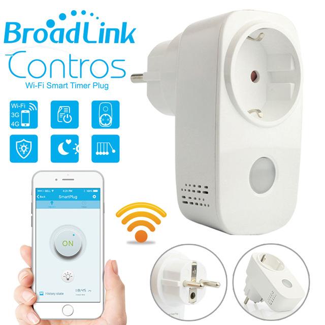 Smart Home Steckdose von BroadLink, Schukostecker(?)