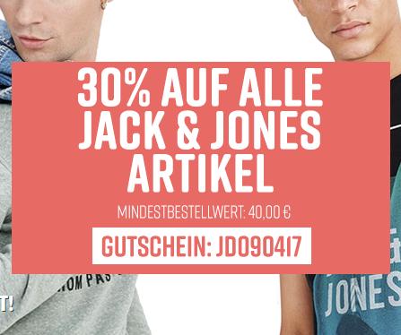 30% auf alles von Jack & Jones und Only bei [jeansdirect.de]