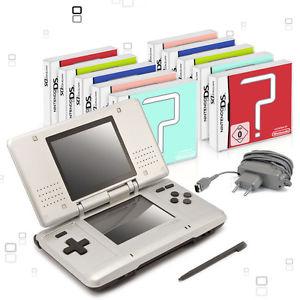 Nintendo DS Handheld Konsole (gebraucht) + 10 Spiele