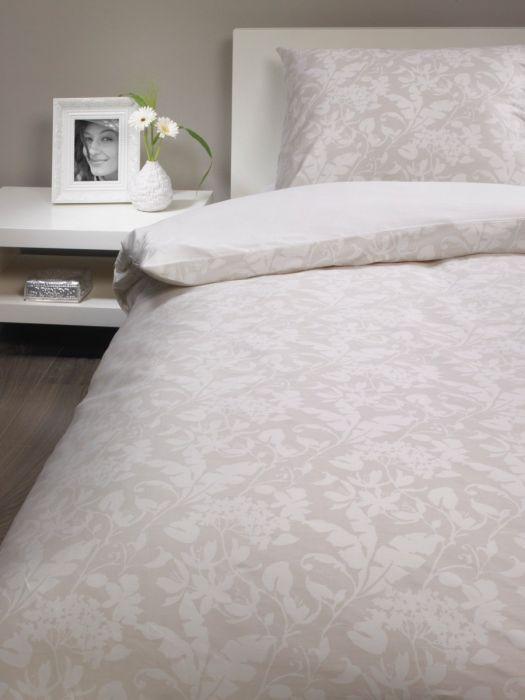 Wieder da: Bassetti Brio Bettwäsche Set 2 Garnituren creme beige Blumenmuster (135/140 x 200cm) für 19,12€ bei top12 *UPDATE*